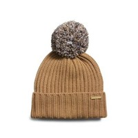 Knitted Pom-Pom Hat | Michael Kors