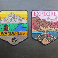 Travelling Patches 2-Pack