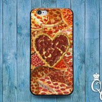 iPhone 4 4s 5 5s 5c 6 6s plus iPod Touch 4th 5th 6th Generation Cool Fun Food Italian Pizza Heart Funny Hip Phone Cover Cute Pepporni Case