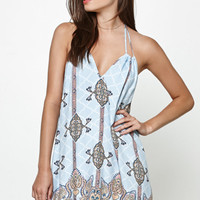 Somedays Lovin Lotus Halter Mini Dress at PacSun.com
