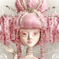 "MIA, The Odd Princess Of Blossoming Sakura A4 (8.2""-11.8"") Art PRINT"