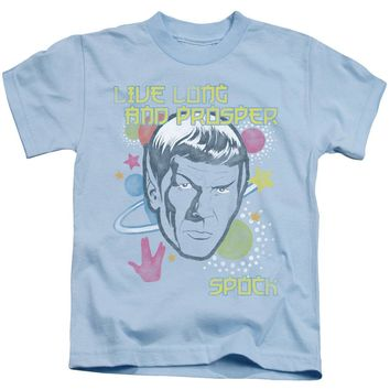 Star Trek - Japansese Spock Short Sleeve Juvenile 18/1 Shirt Officially Licensed T-Shirt