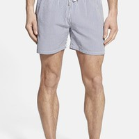 Men's Gant 'L. Seersucker' Slim Fit Swim Trunks
