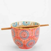 Medallion Noodle Chopsticks + Bowl-