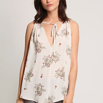 Summer In Italy Floral Blouse | Ruche