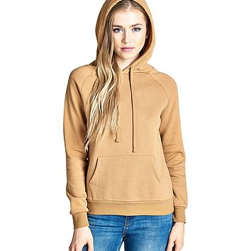 Kangaroo pocket long sleeves hoodie