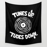 Tunes Up Fabric Wall Tapestry