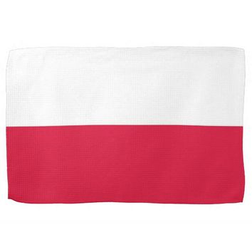Kitchen towel with Flag of Poland