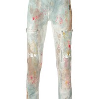 Hood By Air Paint Drip Jeans - Eraldo - Farfetch.com