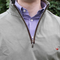 DownpourDry Pullover in Washed Sandstone by Southern Marsh