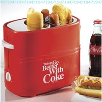 Coca-Cola Hot Dog Toaster: Things Go Better with Coke Kitchen Cooking Device:Amazon:Kitchen & Dining
