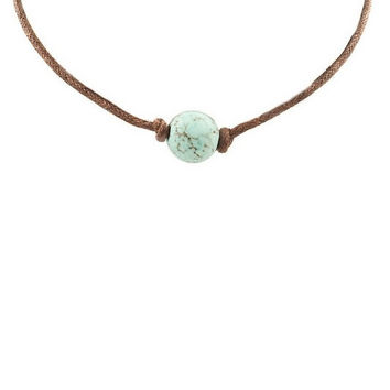 Choker Necklace - Turquoise