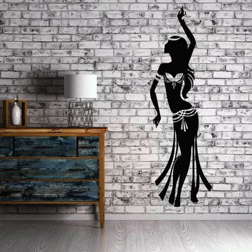 Wall Stickers Belly Dance Relax Arabic Sexy Beautiful Girl Vinyl Decal Unique Gift (ig1553)