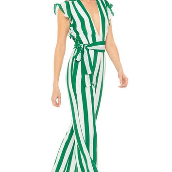 Revel Rey Farrah Jumpsuit- Billiard