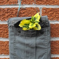 A Camouflage Wall Pocket