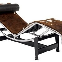 LC4 Chaise Lounge - Cowhide - Design Within Reach