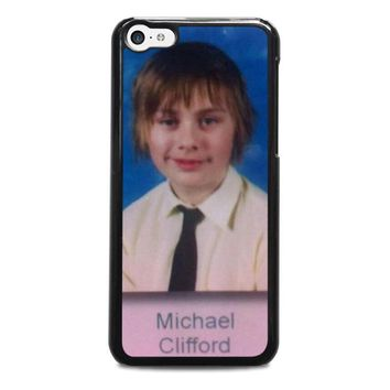 5sos michael clifford iphone 5c case cover  number 1