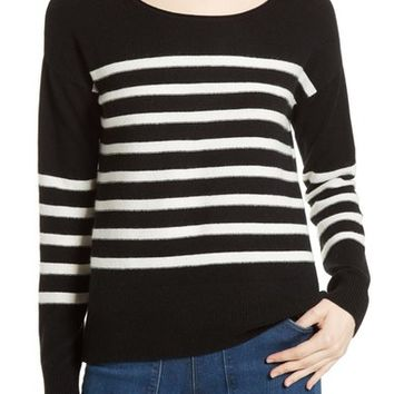 Joie Simonne Stripe Wool & Cashmere Sweater | Nordstrom