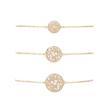 Filigree Bracelet Set