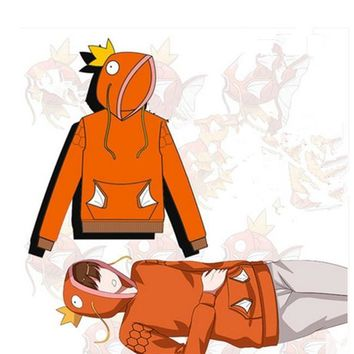 2016 New Anime  Go Cospaly Costume  Go Magikarp Cospaly Costume  Go Cotton Hoodies Sweatshirts UnisexKawaii Pokemon go  AT_89_9