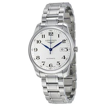 Longines L28934786 Master Collection Automatic Mens Watch - Silver Dial