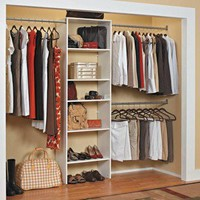 ClosetMaid SuiteSymphony™ Laminate Closet Organizer - White