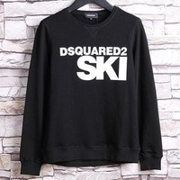 VON7NS Dsquared2 SKI Fashion Round Neck Long Sleeve Top Sweater Pullover