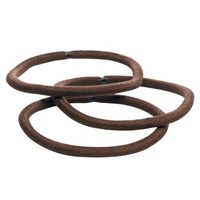 Goody 17Ct Thck Brown/Tan Elastics