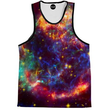 Nebula Of Colors Tank Top