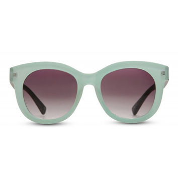 Crazy English Summer Sunglasses - Pastel Blue