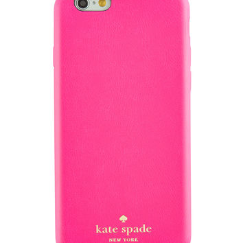 leather iphone 6 case, vivid snapdragon - kate spade new york - Vivid snapdragon
