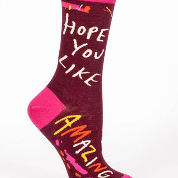Hope You Like Amazing Women's Socks