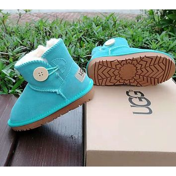UGG Girls Boys Children Baby Toddler Kids Child Fashion Casual Boots Shoes