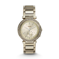 Urban Traveler Multifunction Champagne Stainless Steel Watch