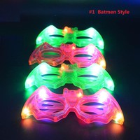 Party Glasses Flashing Blinking Carnival Concert Party Supplies  Wedding Decoration