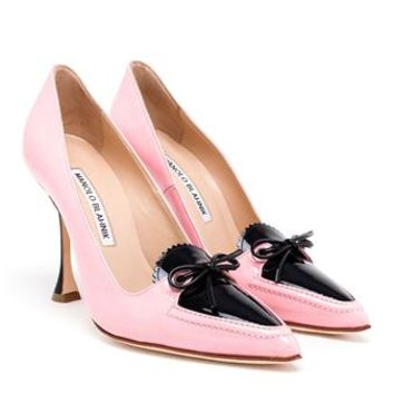 MANOLO BLAHNIK | Balumod Pumps | brownsfashion.com | The Finest Edit of Luxury Fashion | Clothes, Shoes, Bags and Accessories for Men & Women