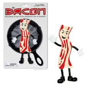 Bendable Mr Bacon Figure