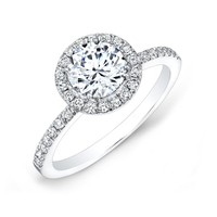 Forevermark Center of My Universe Round Diamond Halo Ring 1 1/3ctw