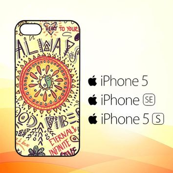 American Hippie Psychedelic L1340  iPhone 5|5S|SE Case