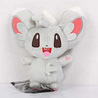 7inch Tall Pokemon Plush Plushie Chillarmy Minccino Stuffed Japan anime Toy-Xmas