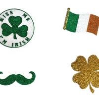 Haybands' Saint Patrick's Day Peel and Stick Glitter Tattoos