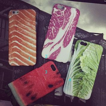 3d food case cover for iphone 5s 6 6s plus gift 241  number 1