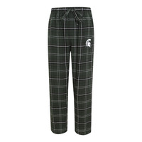 NCAA Michigan State Spartans Mens Flannel Pajama Pants
