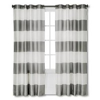 Bold Stripe Curtain Panel - Threshold™ : Target