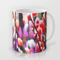 Abstract Pussy Willows Mug by Around the Island (Robin Epstein)