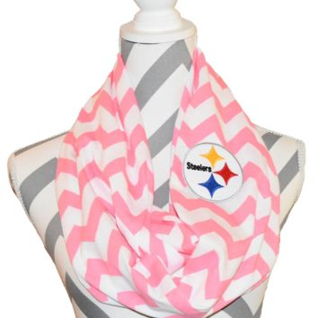 Steelers Pink Scarf