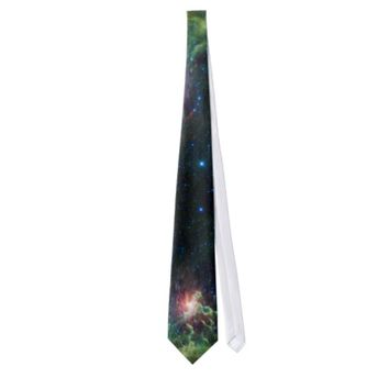 NASAs Flaming star Custom Tie
