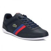 Lacoste Mens Dark Blue Giron TCL Trainers