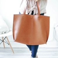 Flip the Switch Tote - Camel