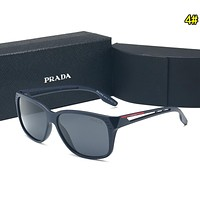 PRADA Popular Men Woman Summer Shades Eyeglasses Glasses Sunglasses 4#